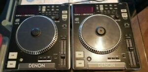Denon DN - S3000 X2 cdj stereo cd player mp3 player audio disc dj decks