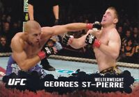 Georges St-Pierre 2009 Topps UFC Rookie Year Card #100 GSP 65 79 94 100 158 83