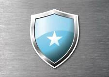Somalia flag shield sticker 3d effect quality 7 year water & fade proof