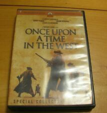 Once Upon a Time in the West Dvd (2 disc set) Fonda-Robards-Bronson-Car dinale