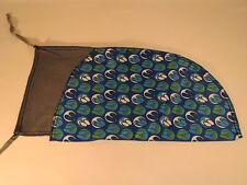 Pistol Sleeve Gun Sock  Durable Lightweight Lined Case Cover Blue Flip Flop