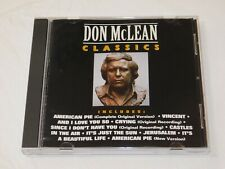 Classics by Don McLean (CD, Feb-1992, Curb Records) American Pie Jerusalem