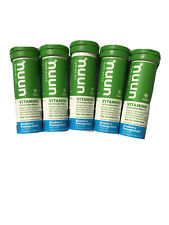 Nuun Hydration Vitamins Blueberry Pomegranate 5 Tubes (12 Each - 60 Tablets)2021