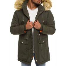 Abrigos y chaquetas de hombre talla XL Parka verde