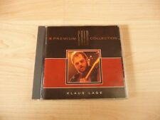 CD Klaus Lage - Premium Gold Collection - 1992 - 16 Songs incl Faust auf Faust