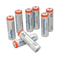 8-Pack MaximalPower™ AA 1600 mAh Ni-MH Rechargeable Battery w Free Battery case