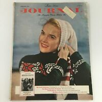 VTG Ladies' Home Journal Magazine February 1950 Helen Ryan Cover and Feature