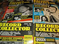 RECORD COLLECTOR MAGS- 156,158,160,163,164,165,168,171,172,180 - $4.99 EACH