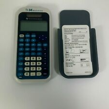 Texas Instruments TI-34 MultiView Scientific Calculator W/ Cover Tested FR/SHP