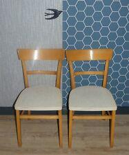 SET von 2 50er Jahre Küchenstuhl weiß rockabilly Klassiker