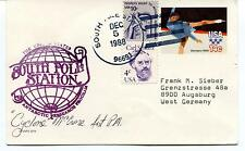 1988 South Pole Station Polar Antarctic Research Program Cover SIGNED