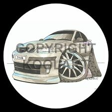 Koolart 4x4 4 x 4 Spare Wheel Graphic Saab 93 Sticker 1724