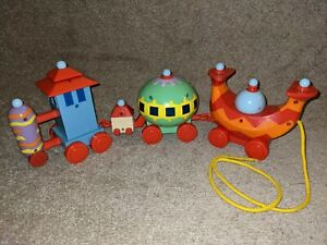 In The Night Garden Pull Along Ninky Nonk Train Toy - BBC Cbeebies