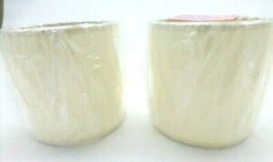 """New Allure Cream Drum Style Lamp Shades Cream 4"""" X 4"""" X 4"""""""