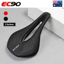 EC90 Gel Leather Saddle Seat MTB Bike Comfort Breathable Cushion Unisex Adult AU