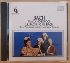 Bach Family Notebook (CD, Intersound)