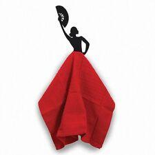 SALE Metal Wall Decor kitchen Display Towel Hook Spanish flamenco dancer