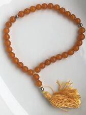 Genuine Baltic Amber 33 pcs Islamic Prayer Beads Misbaha Tasbih Kombolo 10 mm