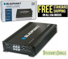 BLAUPUNKT AMP1504 4 CHANNEL FULL RANGE CAR AMP AMPLIFIER 1500W MAX PEAK POWER
