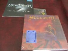 MEGADETH COUNTDOWN TO EXTINCTION MFSL 24KARAT GOLD CD + 3-D VINYL BOX + SINGLE