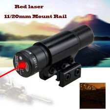 2x 650nm Red Laser Sight 11/20mm Barrel Cliper Fit For Bow Rifle Scope Crossbow