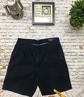 Polo Ralph Lauren Classic Pleated Men's Shorts Size 34 Blue