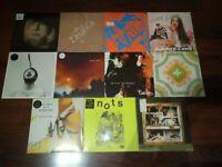 11 x LP  ALBUMS NEU INDIE ROCK / POP / PUNK / AMBIENT (2010's) SAMMLUNG