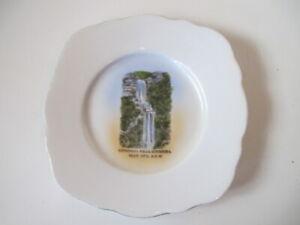 Katoomba Falls, Blue Mountains, NSW Australia - Vintage IBC Bone China Plate