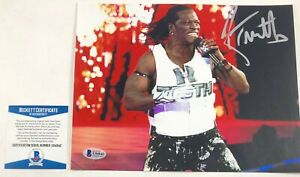 WWE NXT R-Truth Ron Killings Autographed 8X10 Photo Signed Wrestlemania BAS COA
