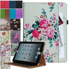 For iPad 10.2 (7th Generation) 2019 Leather Smart Case Cover Stand Wallet Pocket