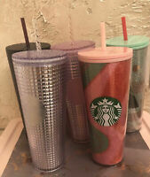 **YOU CHOOSE COLOR** STARBUCKS TUMBLER COLD CUP HOLIDAY 2020 24 OZ