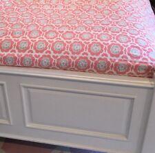 Pottery Barn Kids Girls Full/Queen Pink Floral Duvet With Standard Pillow Sham