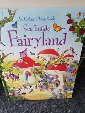Childrens Fairyland Flap Book written by Susanna Davidson