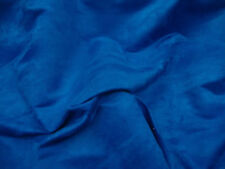 Royal Blue Suede fabric Polyester micro faux suede 58