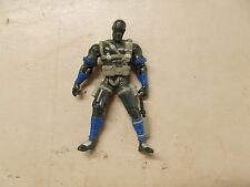2001 G I JOE SNAKE EYES WITH KNIFE FIGURE ONLY SOME WEAR