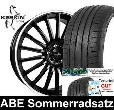"""17"""" ABE Keskin KT15 Alufelgen 225/45 Sommerreifen für VW Golf 5 Variant 1KM"""