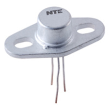 Nte Electronics Nte237 Transistor Npn Silicon 60V Ic=3A To-39 With Heat Sink