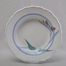 Meissen Strelitzie Suppenteller, tiefer Teller, 24 cm, 1.Wahl, seltenes Dekor