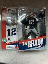 Tom Brady New England Patriots 2005 McFarlane Toys Football Figure MUD PANTS MIP
