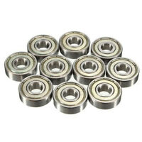 10pcs 608ZZ Deep Groove Ball Bearing (8mm*22mm*7mm) for 3D Printer 8mm