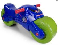 Boys Ride On Kids PJ MASK Toy Bike Moto Light Push Along 2 Wheels NEW TRAGER 3+