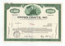SPECIMEN - Crown Crafts, Inc. Stock Certificate
