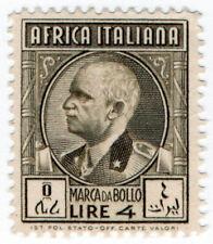 (I.B) Italy (Africa Colonies) Revenue : Marca da Bollo 4L