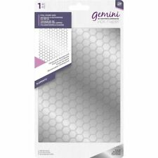 Crafter's Companion Gemini Hot Foil Stamp Die - Elements - Honeycomb