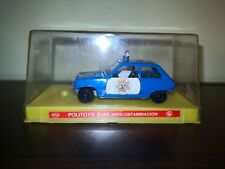 Politoys McGregor E44 Renault 5 Patrulla Anticontaminacion Policia scala 1/43