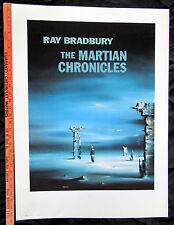 Martian Chronicles Robert Watson Artist Proof - From Ray Bradbury Estate