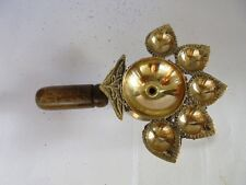 Diwali Brass Diya Panch Aarti Oil Lamp Camphor Burner Hindu Puja Ritual Temple