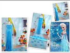 Frozen Snow Queen Elsa Cosplay Costume Deluxe Dress Fancy