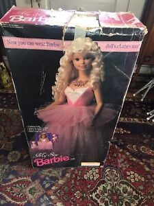 "1992 BARBIE DOLL MY SIZE BARBIE 36"" NIB"