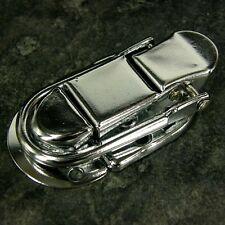 COPPIA Di Toggle cattura Fermo caso grandi piccole argento scatola tronco petto VALIGIA